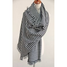 Warm Houndstooth Thick Scarf For Winter For Women, AS THE PICTURE in Scarves | DressLily.com