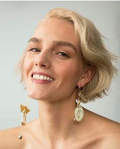 The bolder the better with SS17's statement earrings. Ear candy from @finerylondon Styled by @charlotteelewis Photograph by @benjaminmallek In our April issue out now .  via GLAMOUR UK MAGAZINE OFFICIAL INSTAGRAM - Celebrity  Fashion  Haute Couture  Advertising  Culture  Beauty  Editorial Photography  Magazine Covers  Supermodels  Runway Models