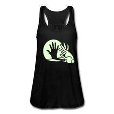 hand shadow rabbit glow in the dark Tank Top | Spreadshirt | ID: 9345361