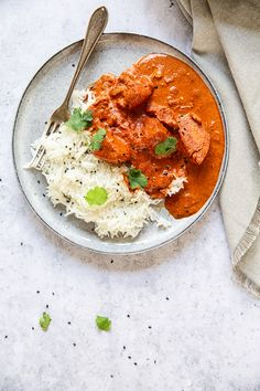 Homemade butter chicken curry that tastes just like a takeaway version but cheaper and healthier!