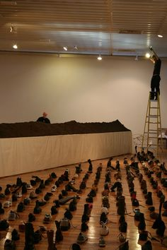 Behind the scenes at the Whitworth again, this time with a lot of shoes. Marina Abramovic, So Creative, Museums, Galleries, Wander, Manchester, Behind The Scenes, Artworks, Art Gallery