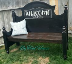 Entry way bench  @tealhousecreative