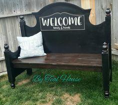 Entry way bench  @tealhousecreative