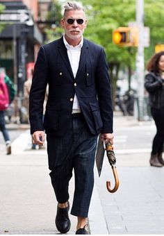 Urban Street Style, Nick Wooster, Mens Spring Summer Fashion.
