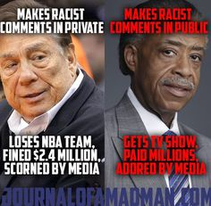 Racism is wrong. So are double standards. - Imgur