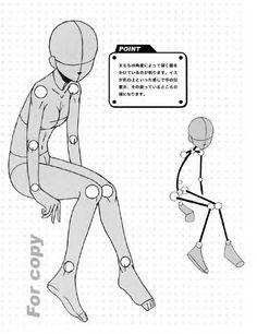 キャラクターをつくろう! 少女イラスト見本帖,制服コレクション編 Manga Basic Pose 7