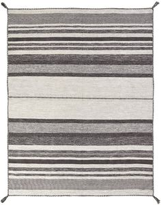 Kalaty Andes Area Rug - This Canyon Graphite rug is an excellent choice for your house. Rug Loom, Rug Studio, Striped Rug, Black Rug, Patterned Carpet, Persian Carpet, Look Chic, Carpet Runner, Rugs