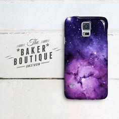 Purple Nebula Samsung Galaxy case cover by BakerrBoutique Samsung Galaxy S5, Galaxy S4 Mini, Galaxy Space, Galaxy S5 Case, Cool Phone Cases, Phone Covers, Iphone Cases, Galaxy Note 3, Note 3 Case