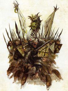Fantasy Battle, Fantasy Races, High Fantasy, Fantasy Rpg, Fantasy Artwork, Fantasy World, Warhammer Skaven, Warhammer Art, Fantasy Monster