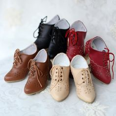 [TUNA FISH] SD16 / DD / GR 3 minutes BJD women and ankle boots high-heeled foot flat heels - Taobao