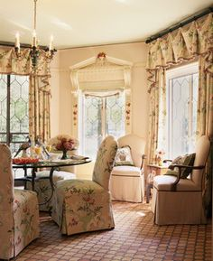 Sitting room fit for high tea