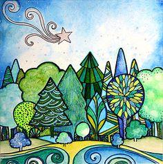 Deborahs Dreamscape by Robin Mead