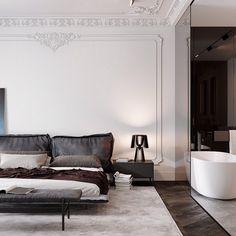 Modern bedroom design #modern #bedroom #interiordesign #bedroomdesign