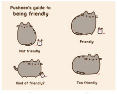 Pusheen's Guide to Being Friendly