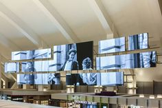 Moment Factory was commissioned by Los Angeles World Airports as the executive multimedia content producer for seven experiential media features inside the Tom Bradley International terminal. Digital Signage, International Airport, Public Art, In This Moment, Expo 2020, Multimedia, Design, Dubai, Google