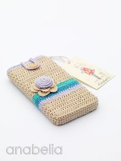 Smart phone crochet cover, inspiration.