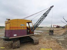 Bucyrus Erie, Crawler Crane, Heavy Equipment, Shovel, Construction, Building, Dustpan