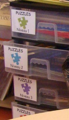 Carnet de réussite puzzles pour l'autonomie chez Vivi
