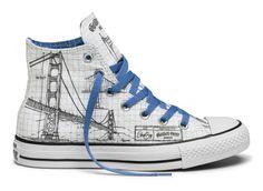 "#Converse x Shoe Biz Chuck Taylor All Star ""San Francisco Moments"""