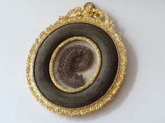 Hair of King Louis XVI and Marie Antoinette, at the museum Raffael Pagès, in Barcelona