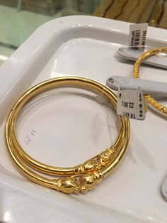 Ali Baba Selani Gold and diamond suppliers Dubai. Kids Gold Jewellery, Gold Jewellery Design, Kids Jewelry, Gold Jewelry, Gold Bangles Design, Gold Earrings Designs, Gold Designs, Chor, Wedding Jewelry