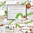 The Very Hungry Caterpillar Speech and Language Companion Pack - I love that greedy caterpillar!!  21 pages of speech, language and phonemic awareness activities
