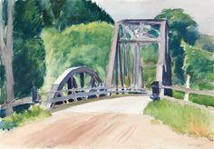 Edward Hopper - Country Bridge