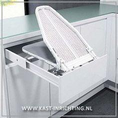 Hideaway ironing board