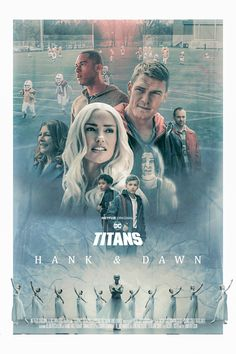 Looking for some cool posters from your favorite DC series Titans? Check out the fantastic collection of Titans poster. Teen Titans Love, Teen Titans Fanart, Dc Comics Heroes, Dc Comics Art, Dc Universe, Titans Tv Series, Power Rangers Comic, New Titan, Free Poster Printables