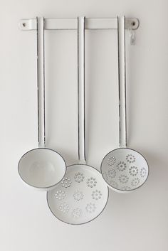 Riess Enamel Ladel Set