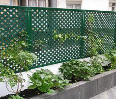 Planter Boxes, Planters, Portugal, Concrete Patio, Garden Landscaping, Fence, Garden Design, Outdoor Structures, Cement Patio