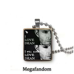 Dean Winchester Supernatural Scrabble Tile Pendant with silver plated ball chain Supernatural Jewelry Supernatural Jewelry, Supernatural Merchandise, Winchester Supernatural, Supernatural Tv Show, Supernatural Outfits, Castiel, 3d Printed Jewelry, Scrabble Tiles, Super Natural