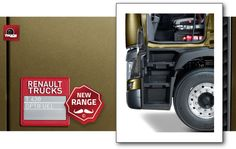 Range T on the road with André Godeloup Roady Responsive Design Truck : Renault Trucks T