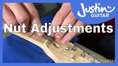 Adjusting The Nut Electric, Guitar, Action, Youtube, Group Action, Guitars