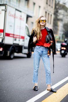 Best Street Style at Milan Fashion Week Fall 2017 | POPSUGAR Fashion Photo 80