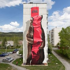 Satka, Russia: new piece by Swiss artists Christian Rebecchi and Pablo Togni aka Nevercrew fot the Satka Street Art Festival. CLICK HERE FOR DETAILED INFO ABOUT THE MURAL USEFUL LINKS: Nevercrew in…