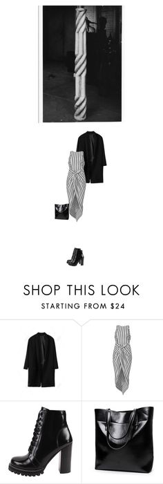 """Untitled #1790"" by hologrammar ❤ liked on Polyvore featuring WithChic and Jeffrey Campbell"