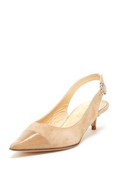 Butter Peng Pointed Toe Kitten Heel by Spring Social on @HauteLook