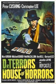 Dr Terrors House Of Horrors Movie Poster Standup 4inx6in