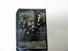 19thc Handsome Young Gents in Bowler Hats by TheInstantMemory