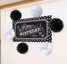 Sparkling Celebration Happy Birthday Party Supplies - Party City