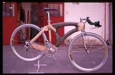 Wooden Bikes - Bicycles made out of wood