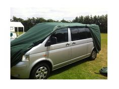 Johns Cross Motorcaravan and Camping Centre  - Kampa VW T4 and T5 Campervan Cover, £84.99 (http://www.johnscross.co.uk/products/kampa-vw-t4-and-t5-campervan-cover.html)