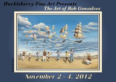 HFA is hosting an event all about Rob Gonsalves November Come out and meet Rob, check out his artwork in person, and have a wonderful time with us at the gallery! Huckleberry, Wonderful Time, November, Meet, Events, Fine Art, Gallery, Check, Artwork