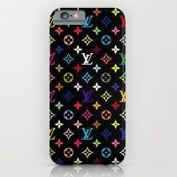 COLORFULL LV PATTERN LOGO iPhone 6 Slim Case
