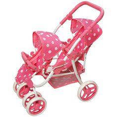 Badger Basket Reversible Double Doll Stroller - Walmart.com