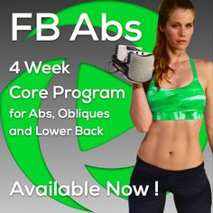 Now available! New 4 Week Core Program for Abs, Obliques & Lower Back @ http://bit.ly/1JZtWlH This is NOT your typical abs program! We built this program for real results & the core, HIIT cardio, total body strength & toning workouts are not only great for reducing belly fat & building a lean toned stomach, but also effective for allover toning, reducing body fat, & improving cardiovascular endurance. 5 days/week, 31 minutes on average, all you need is dumbbells @ http://bit.ly/1JZtWlH