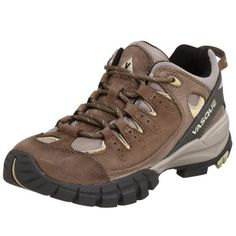 Vasque Women's Mantra Hiking Shoe Vasque. $79.98. Aggressive Vibram Ananasi outsole for positive grip over changing terrain. Rubber sole. Removable dual density EVA footbed for arch support, additional cushioning, and volume adjustment. Molded EVA midsole for cushioning on long outings, steep descents, and rocky trails. 1.8mm water resistant nubuck leather and airmesh nylon upper. Molded thermoplastic urethane (TPU) plate for underfoot protection and stability. Mes...