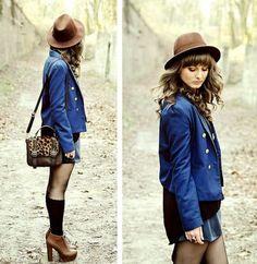 Mini Leopard Bag Combine clasic Style for Women Indie Fashion, Retro Fashion, Vintage Fashion, Fashion Outfits, Fasion, Street Fashion, All About Fashion, Passion For Fashion, Ugly Outfits