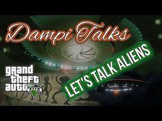 Dampi Talks - Pt. 2 | Let's talk Aliens | GTA V Train Ride